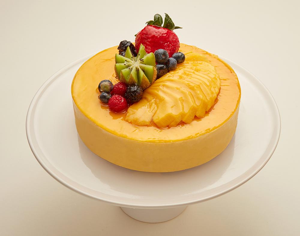 Mango Mousse Cake - Bay Area