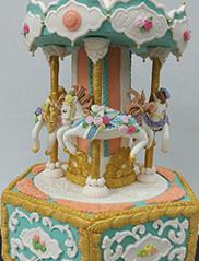 Custom Carousel Cake San Francisco