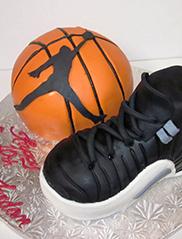 Custom Basketball Cake San Francisco