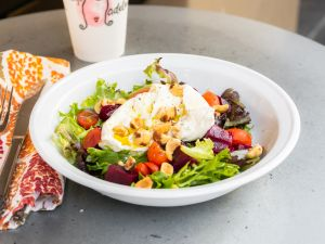 Order Burrata Cheese Salad Online at Cafe Madeleine in San Francisco