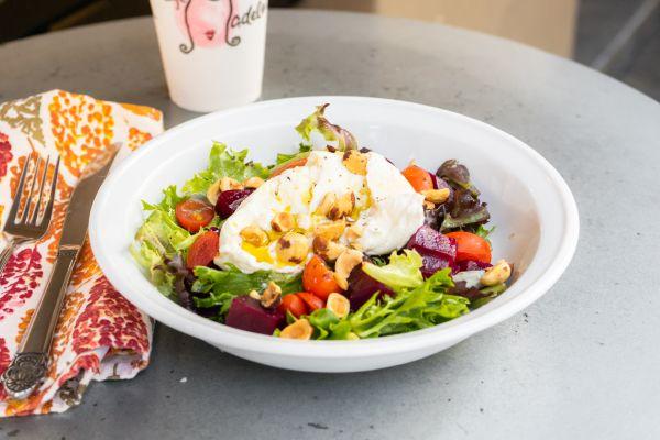 Order Burrata Cheese Salad Online at Cafe Madeleine in San Francisco
